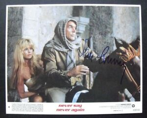 NEVER-SAY-NEVER-AGAIN-JAMES-BOND-007-photo-signed-by-SEAN-CONNERY-with-COA