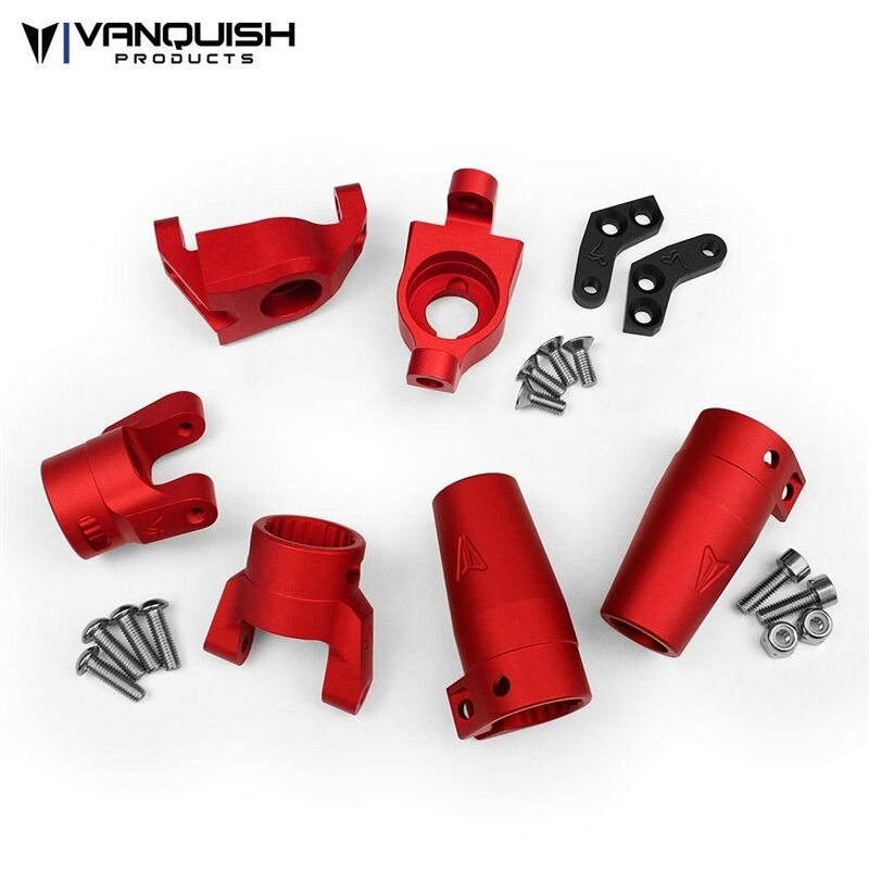 Vanquish Products Axial Wraith Stage One Kit rosso Anodized VPS06513