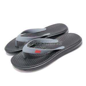 Nike-Solay-Thong-Black-Bright-Crimson-Grey-Men-Sandals-Flip-Flops-882690-009