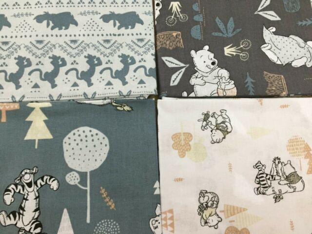 Woods 100/% Cotton Quilting /& Craft Fabric Winnie the Pooh /& Friends Fabric