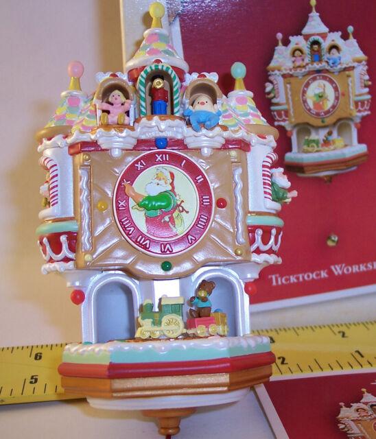 Hallmark Keepsake 2004 ~ TickTock Workshop ~ Christmas Ornament QLX7614 Ken Crow