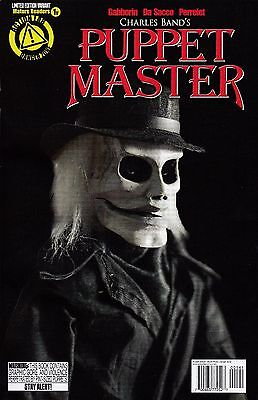 """PUPPET MASTER #1 MARCH 2015 /""""THE OFFERING/"""" BLADE SKETCH VARIANT COVER"""