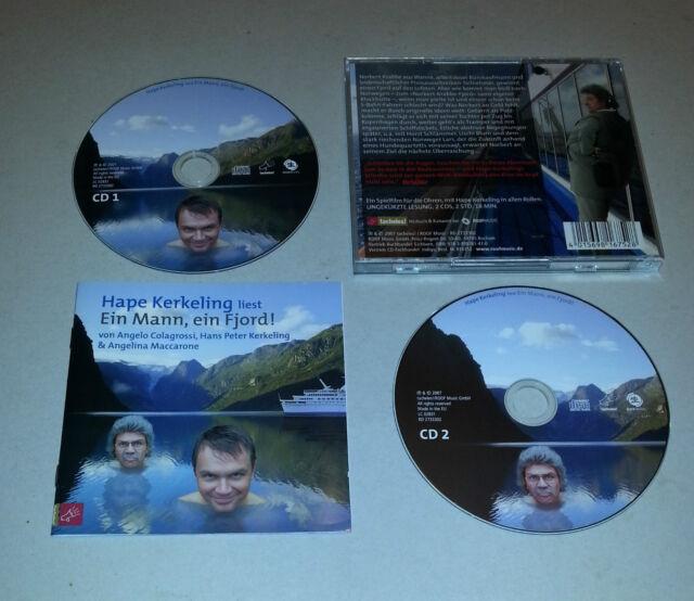Album 2 CD  Hape Kerkeling liest Ein Mann, ein Fjord!  Horst Schlämer  2007