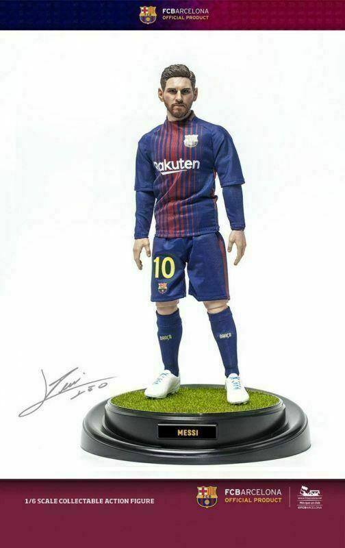 compras online de deportes ZCWO ZCWO ZCWO Fcb Messi 16-17 Figura de Acción Juguetes de colección de temporada de fútbol de cuerpo  punto de venta