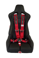 Cipher Auto 5 Point 5pt Racing Harness 3 Sfi 161 Camlock Red New In Box 0623