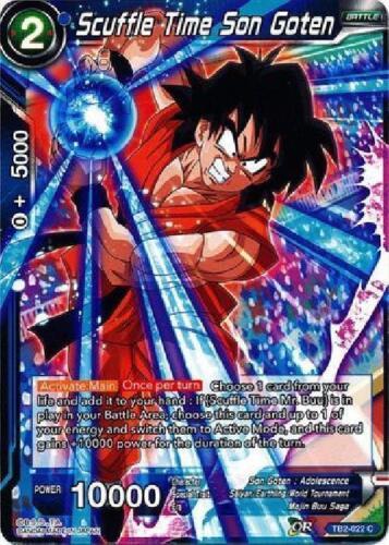 Scuffle Time Son Goten TB2-022 x4 4x Cards Dragon Ball Super CCG Mint