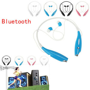 Wireless Bluetooth Headset SPORT Stereo Headphone Earphone for Samsung iPhone 7