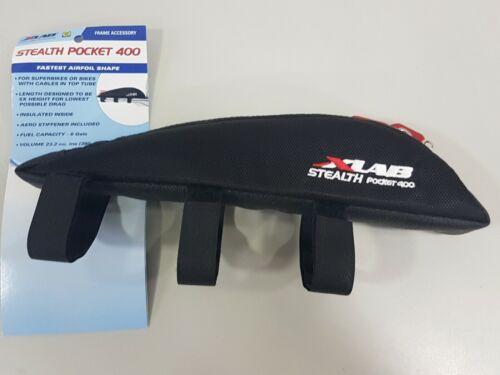XLab Top Tube Aero Bag Stealth Pocket 400 Black