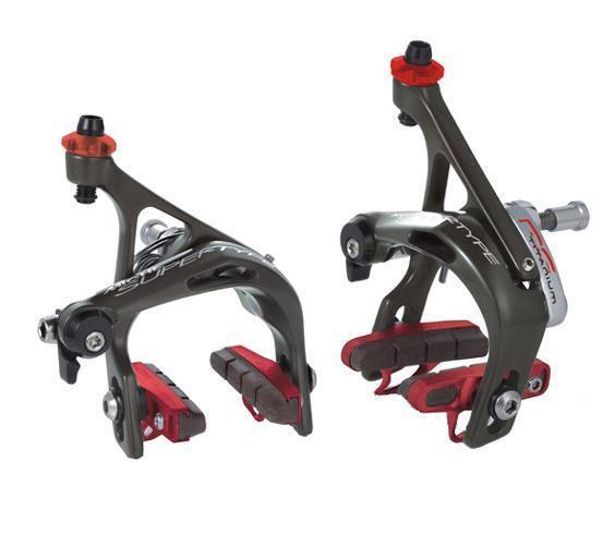 Road race brake set súpertype rs alloy titanium MICHE brakes bike