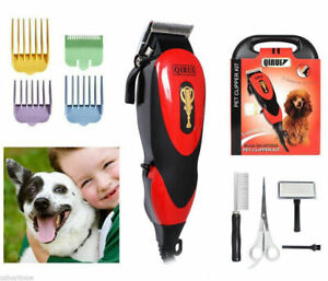 Cat-Animal-Hair-Grooming-Trimmer-Electric-Dog-Pet-Clipper-Kit-Blade-Comb-Set
