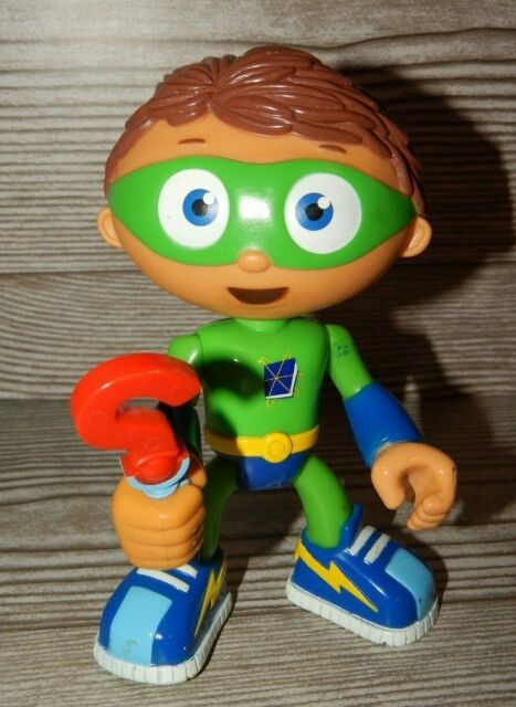Rare Learning Curve PBS Show Super Why Whyatt Wyatt Boy 9inches Plush Kids Toy