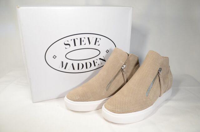 Steve Madden Caliber Wedge Boot Taupe