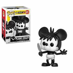 Mickey-039-s-90th-Plane-Crazy-Mickey-Funko-Pop-Disney-Toy-New