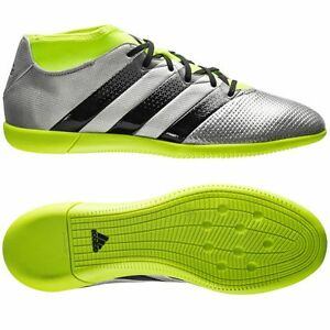 40db6bf9f adidas Ace 16.3 Primemesh IN Indoor 2016 Soccer Shoes New Silver ...