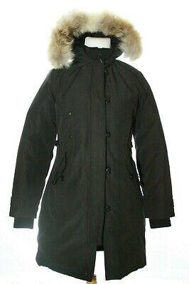 Canada Goose Kensington Coyote Fur Trim Parka 2506LA Black ...