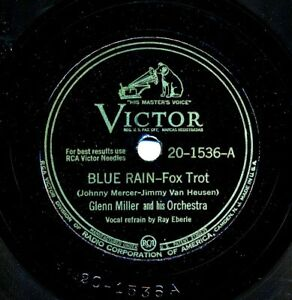 GLENN-MILLER-Orchestra-on-1943-Victor-20-1536-Blue-Rain-Caribbean-Clipper