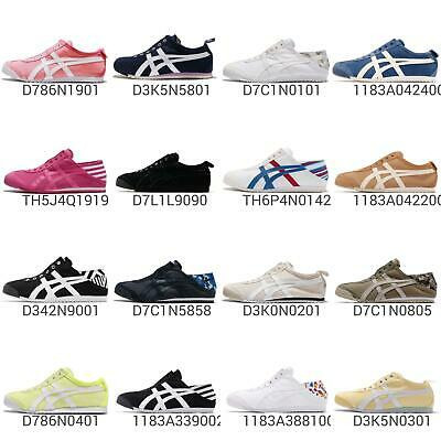 Asics Onitsuka Tiger Slip-On / Paraty Mens Womens Lifestyle Shoes Sneaker  Pick 1 | eBay