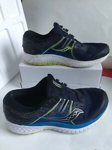 MENS-SAUCONY-EVERUN-OMNI-ISO-BLUE-BLACK-WHITE-GREEN-RUNNING-SHOES-SIZE-10-5
