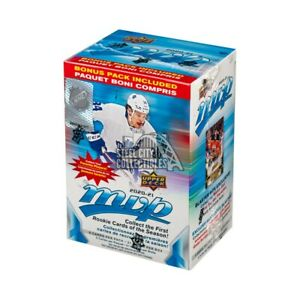 10 2020 2021 Upper Deck MVP Hockey NHL Trading Cards Blaster Boxes