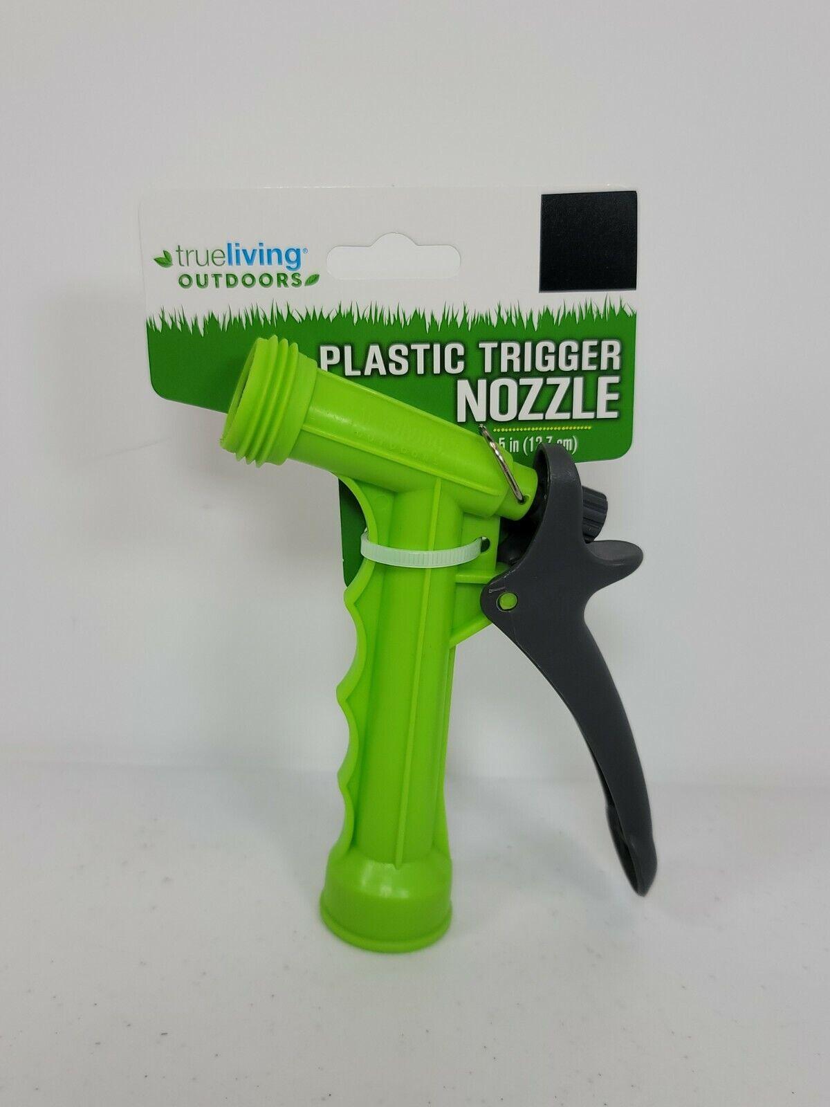 True Living Outdoors plastic Body Trigger Hose Spray Nozzle New