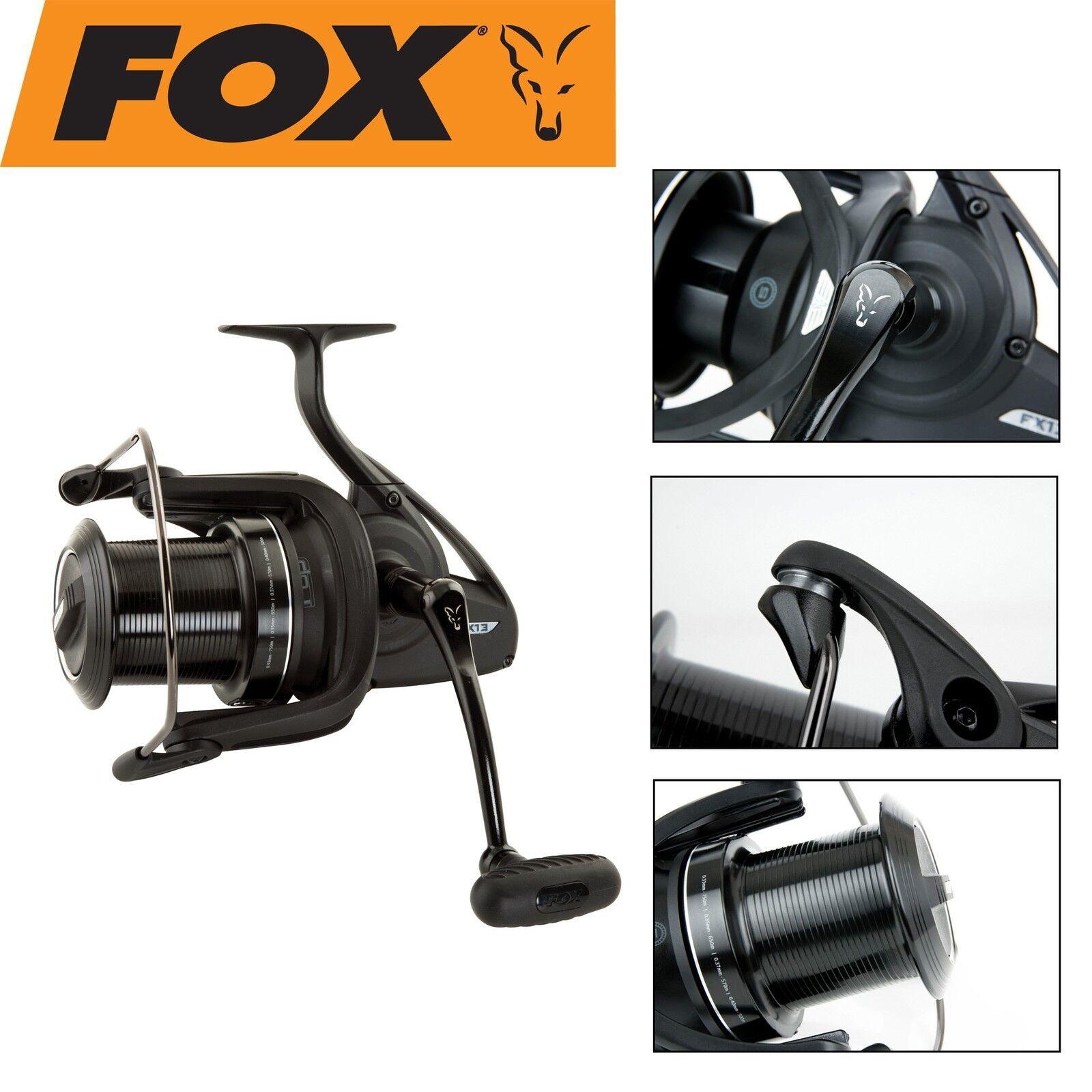 Fox FX13 Reel Rolle Rolle Reel zum Karpfenangeln, Stationärrolle mit Weitwurfspule f840c6