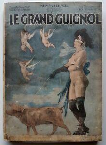 RARE-EO-1926-REVUE-LE-GRAND-GUIGNOL-SPECIAL-NOEL-FELICIEN-ROPS-HENRI-BERAUD