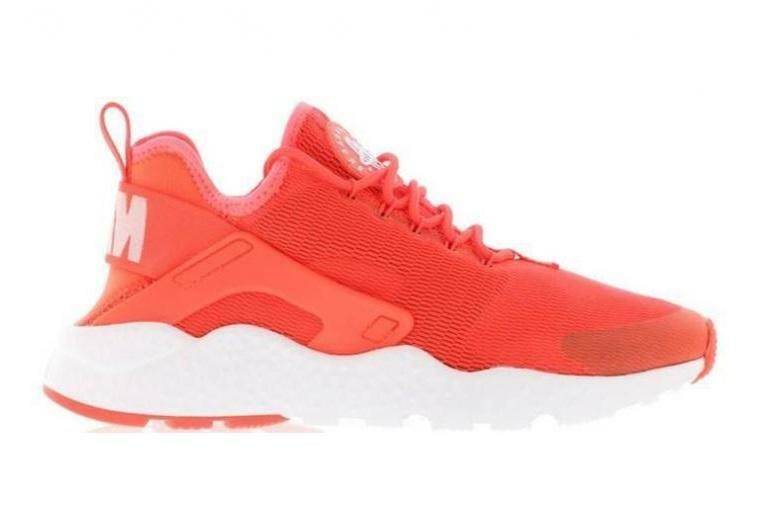 damen AIR HUARACHE RUN ULTRA Bright Crimson Trainers 819151 600