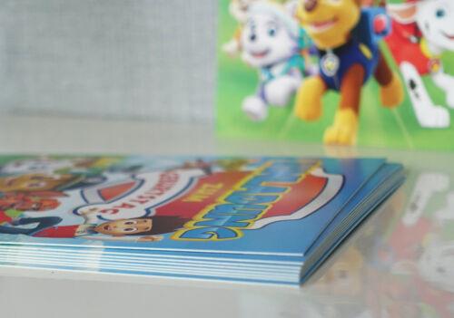 Paw Patrol kinder Geburtstag Einladugskarten inklusive Umschlägen