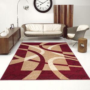 Das Bild Wird Geladen Wohnzimmer Teppich Streifen  Borduere Viele Varianten TOP DESIGNER