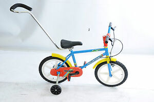 Parent Handle 4 Child Kids Bike Cycle Childrens Bicycle