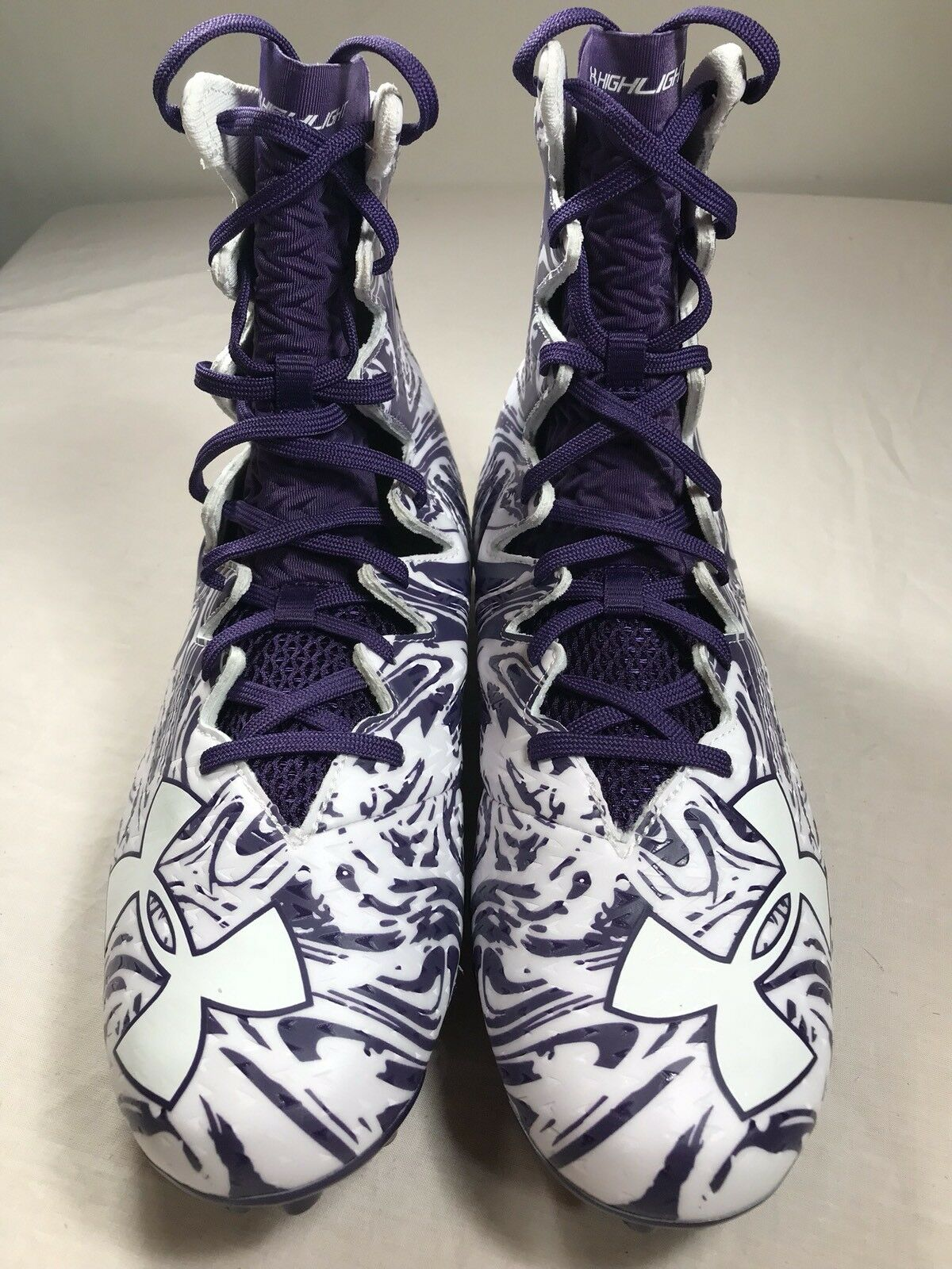 Under Armour Highlight LUX MC Football Cleats Cleats Cleats viola/bianca 1297953-511 Sz. 11.5 4ea0fe