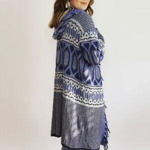 Sundance Long Knit Sweater Coat Women's Size Medium