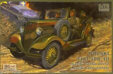Véhicule Polonais FIAT POLSKI 508/III LAZIK  - KIT IBG Models 1/72 n° 72008