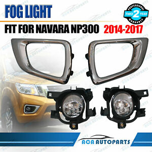 Fog-Light-Kit-for-Nissan-Navara-D23-NP300-2015-2017-with-Wiring-amp-Switch