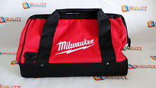"*New* Milwaukee 16"" Heavy Duty Contractors Tool Bag L@@K"