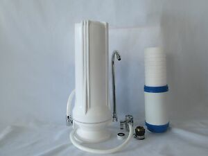 Counter-Top-Dual-Stage-Drinking-Water-Filter-Sediment-Carbon-Cartridge