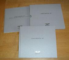 Bentley Continental GT Hardback Brochure Set 2008-2009 UK Market