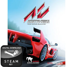 Details about ASSETTO CORSA YOUR RACING SIMULATOR PC STEAM KEY