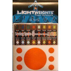 Lightweights 3m Scotchlite Reflective Dots 7x Green Sporting Goods Cycling