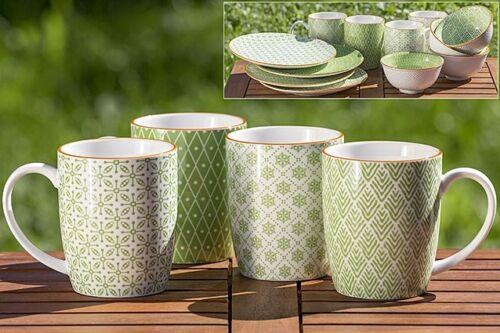 4 Jumbobecher Mixit 330 ml Kaffeetassen Spruch Küche Becher 1004975 Tasse Punkte