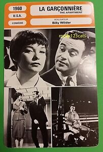 Image Is Loading Us Comedy Drama The Apartment Jack Lemmon Billy