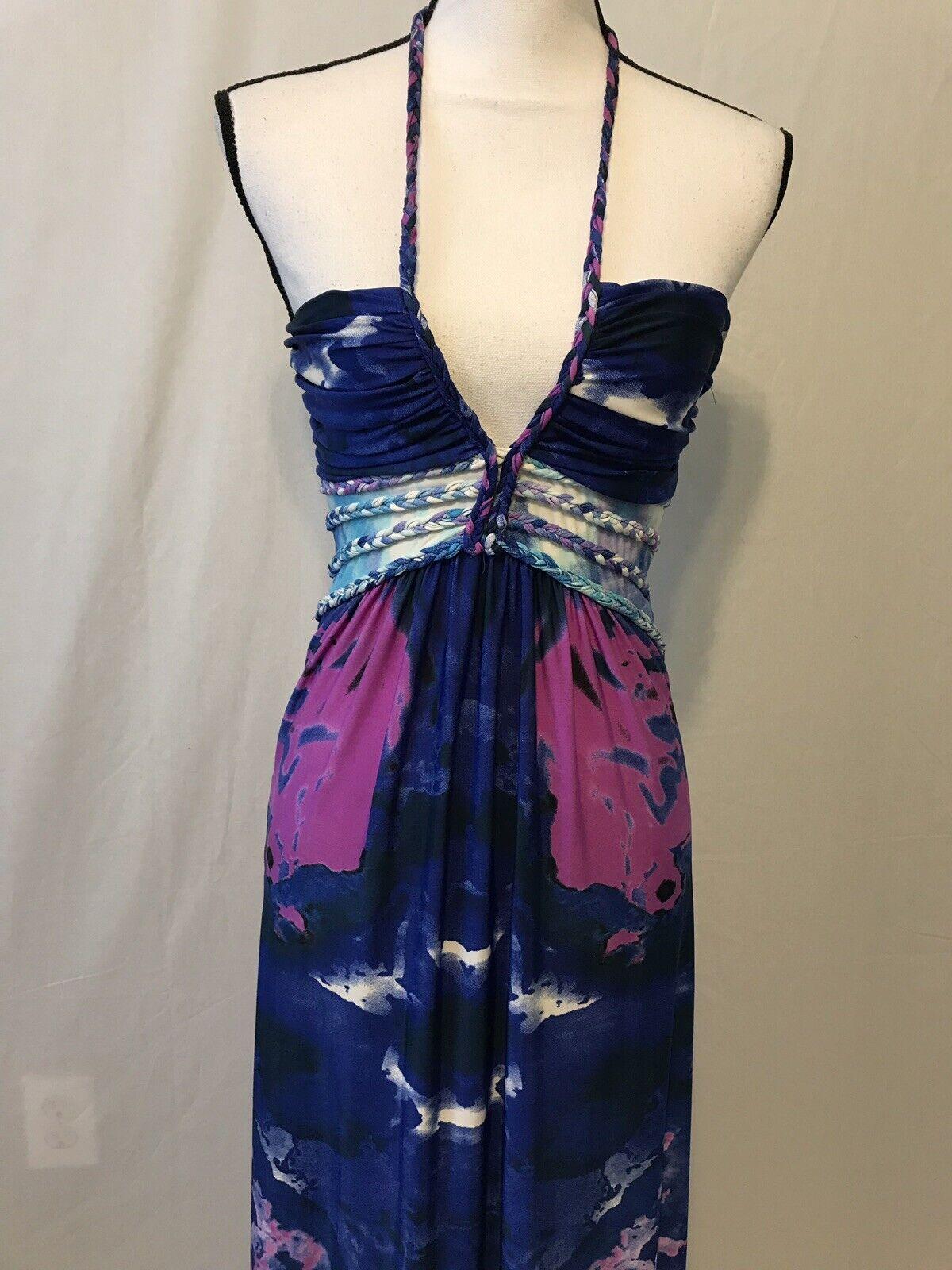 Cynthia Rowley WaterFarbe Resort Maxi Dress Gown SZ S
