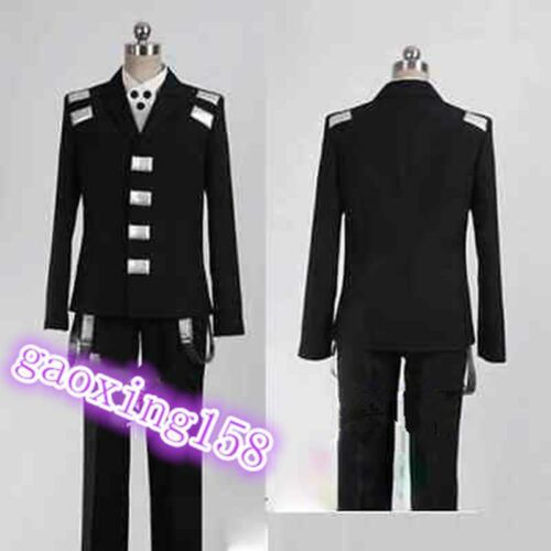 Soul Eater Death the Kid cosplay costume de n/'importe quelle taille Fait Sur Mesure