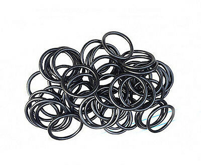 O-ring 1.8mm Wire Diameter 1.8mm-6.7mm ID NBR Rubber Oil Resistant Sealing Ring