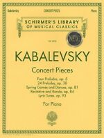 Concert Pieces Piano Solo Piano Collection 050483239