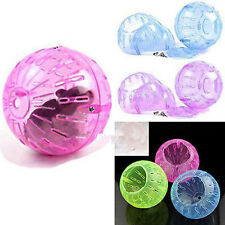 Pet Rodent Mice Jogging Hamster Gerbil Rat Play Small Plastic Toy Exercise Ball