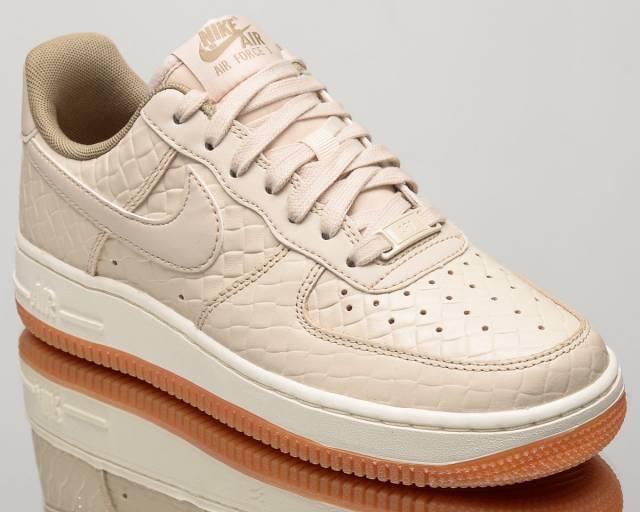 Nike Wmns Air Force 1'07 zapatilla PRM elegante zapatilla 1'07 Avena 616725 112 Reino Unido 7 EU41 US9.5 f30325
