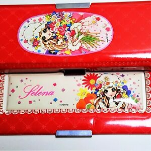 034-SELENA-034-KUTSUWA-JAPAN-Vintage-Rare-Anime-Manga-Retro-Puffy-Pencil-Case