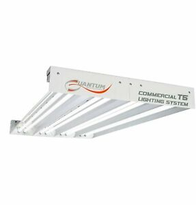 Quantum 4' T5 432W 8-Tube Fixture without Lamps, Medium