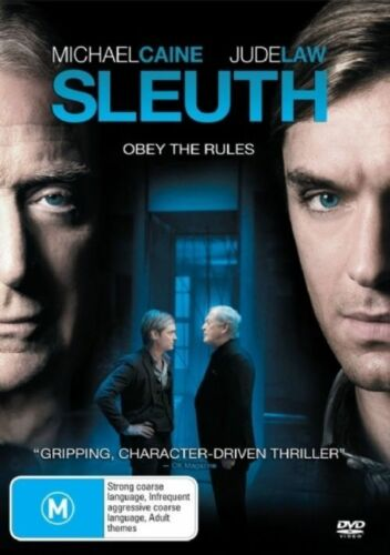 1 of 1 - Sleuth (DVD, 2008) free post!!